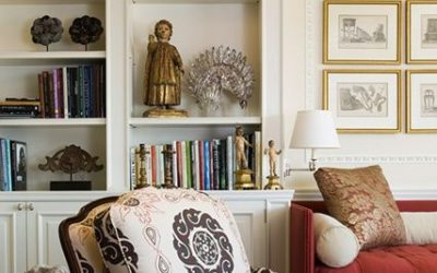 Accessories add interest to a room